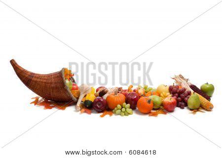 Anordnung der Herbst-Obst und Gemüse