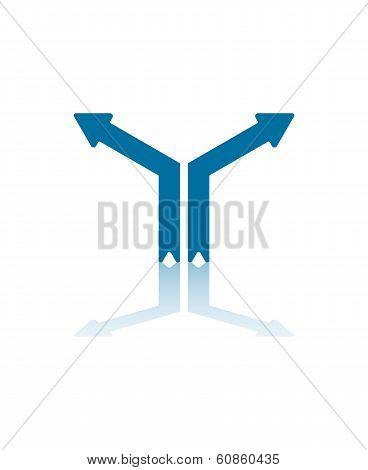 Parting Ways Arrows