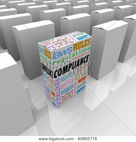 Compliance Box Competitive Advantage Best Choice Safest Products