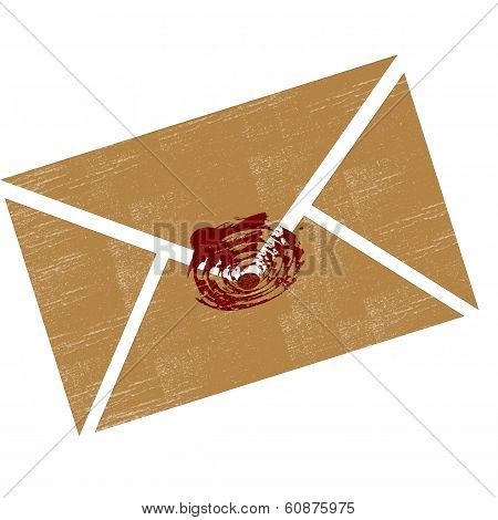 Envelope with seal