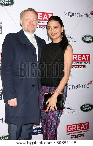 LOS ANGELES - FEB 28:  Jared Harris at the 2014 GREAT British Oscar Reception at The British Residence on February 28, 2014 in Los Angeles, CA