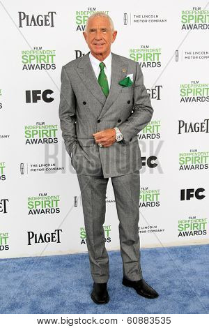 SANTA  MONICA - MAR 1: Prinz Frederic Von Anhalt at the 2014 Film Independent Spirit Awards at Santa Monica Beach on March 1, 2014 in Santa Monica, California