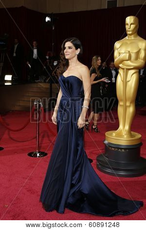 LOS ANGELES - MAR 2:  Sandra Bullock at the 86th Academy Awards at Dolby Theater, Hollywood & Highland on March 2, 2014 in Los Angeles, CA