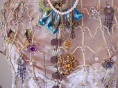 Jewelery attached to a Dummy. poster
