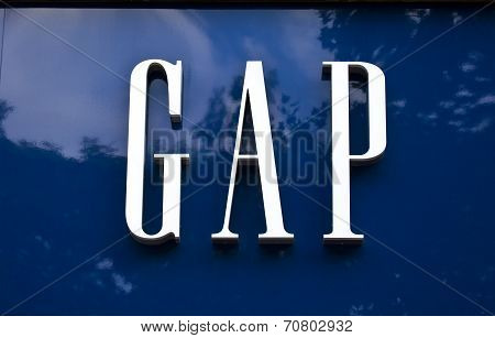 Gap Store Sign
