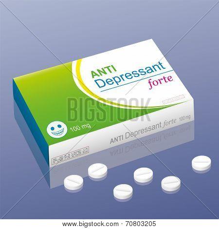 Anti Depressant forte pills