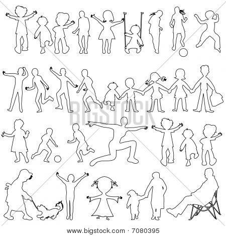 Peoples Black Sketch