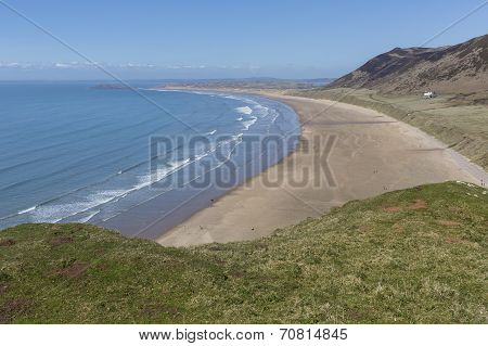 Rhossili Bay, The Gower Peninsula