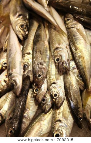 Sardinas On Food Market