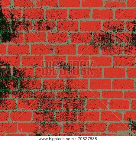 Messy Brickwall Texture