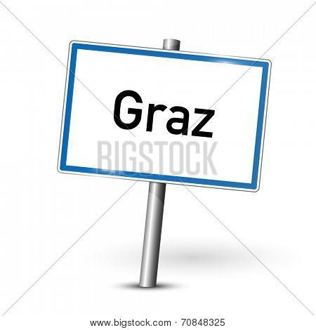 City sign - Graz - Austria
