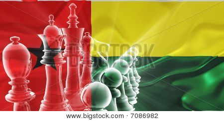 Flag Of Guinea Bissau Wavy Business Strategy
