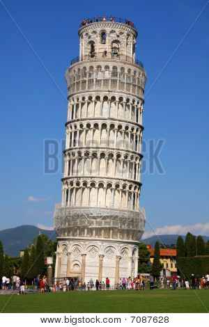 The Learning Tower - La Torre Pendente Di Pisa