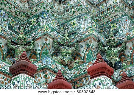Buddha temple in Bangkok