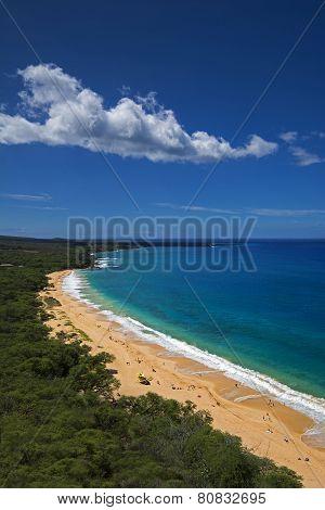 Big Beach, Oneloa Beach, south Maui, Hawaii, USA