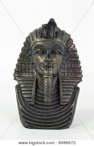 gold mask, tutankhamu