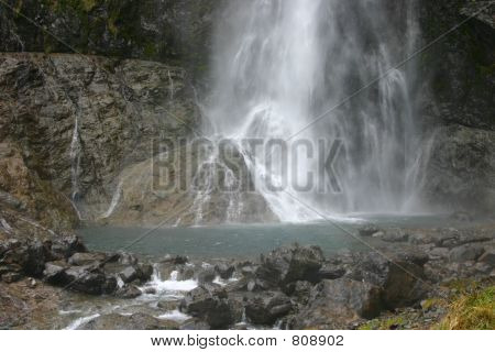 Arthur Pass Waterfall