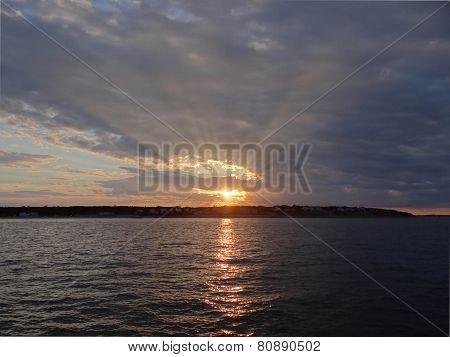 Sunset Over Martha's Vineyard