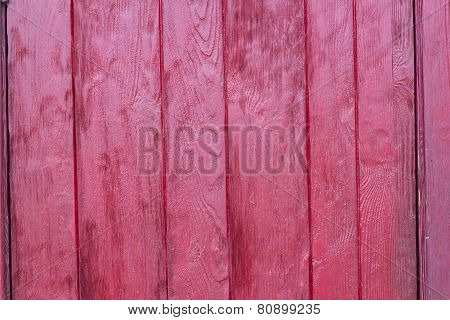 Red wood wall texture background