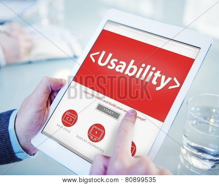 Usability Accesibility Analysing Device Using Concept