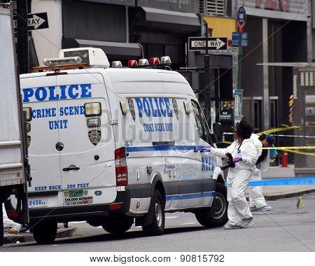 NYPD Crime Scene Investigation