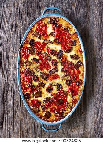 Rustic Italian Baked Vegetable Ragu