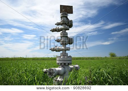 Equipment Of An Oil Well