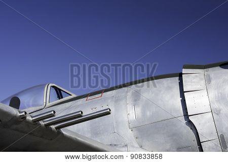 Vintage Fighter Plane Details