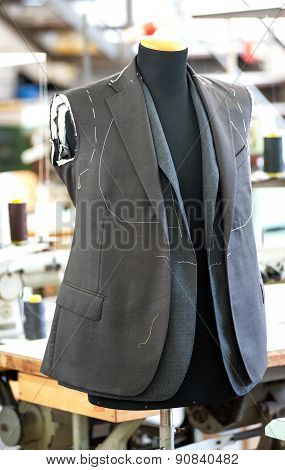 Hand Tailored Jackets On A Mannequin
