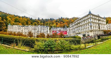 View On Hotels In Karlovy Vary, Czech Republic