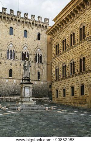 Palazzo Salimbeni, Siena, Italy
