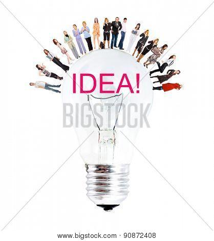 Many Colleagues Achievement Idea