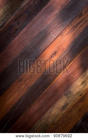 Lighting With Wood Barn Plank Background