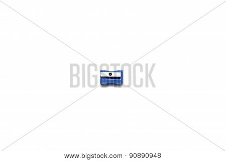 pencil sharpener isolated on a white background