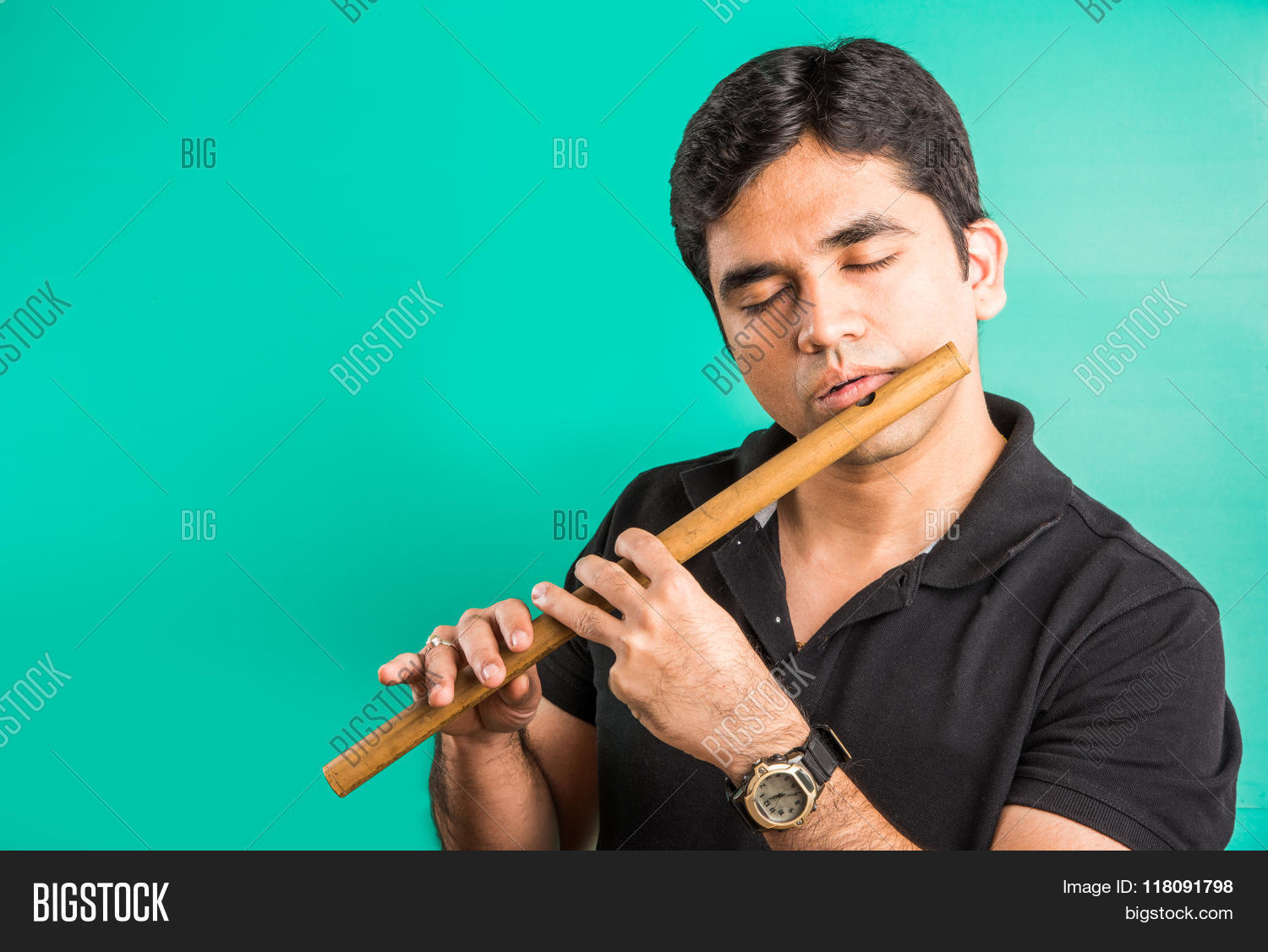 Asian playing flute