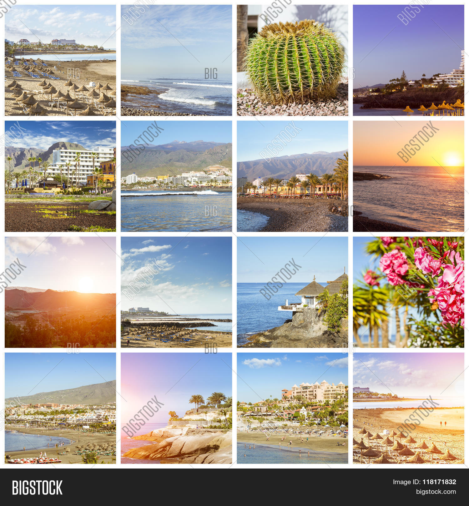 Tenerife Collage, Image & Photo (Free Trial) | Bigstock