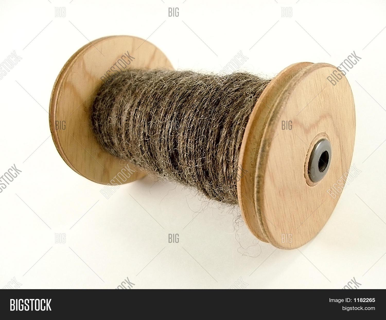 spool handspun yarn image photo free trial bigstock