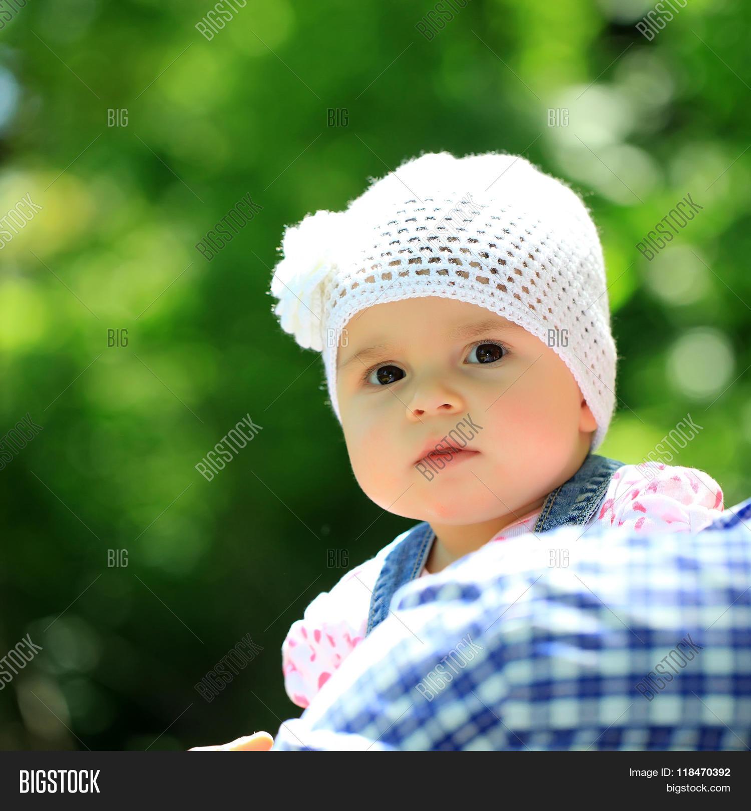 baby girl cute hazel- image & photo (free trial)   bigstock