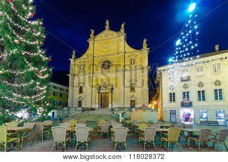Collegiata Dei Ss Pietro E Stefano Church, In Bellinzona