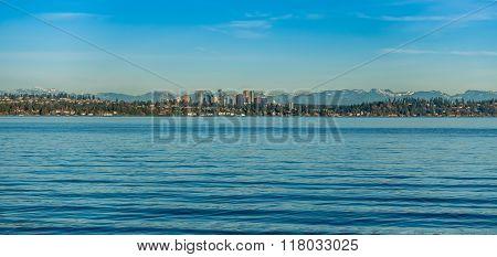 Bellevue Skyline On Lake