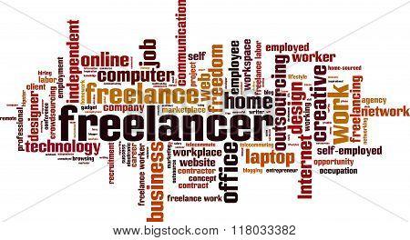 Freelancer Word Cloud