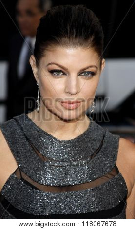 Fergie of The Black Eyed Peas at the Los Angeles Premiere of