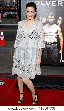 Amanda Peet at the Los Angeles Premiere of