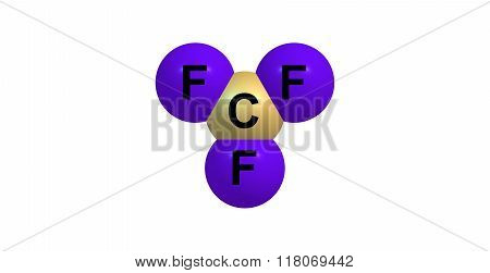 Chlorine trifluoride is an interhalogen compound with the formula ClF3. It is colourless poisonous corrosive and extremely reactive gas