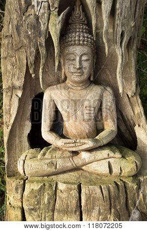 Buddha Carving.