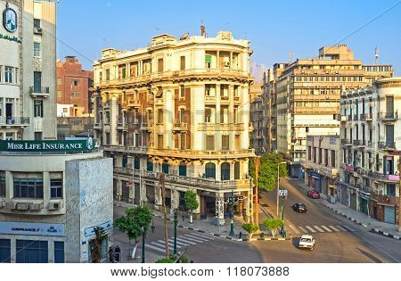 The Buildings On Talaat Harb Square