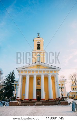 Orthodox Cathedral of St. Peter and Paul in Gomel, Belarus