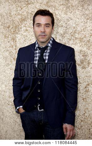 Jeremy Piven at the Season 7 Premiere of