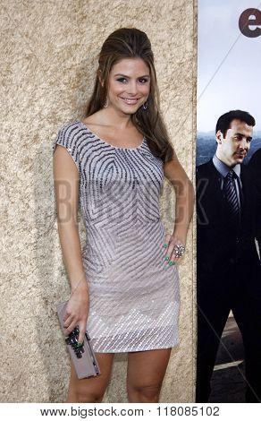 Maria Menounos at the Season 7 Premiere of