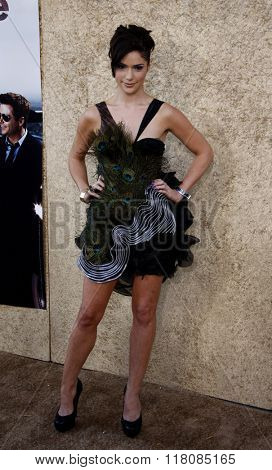 Janet Montgomery at the Season 7 Premiere of